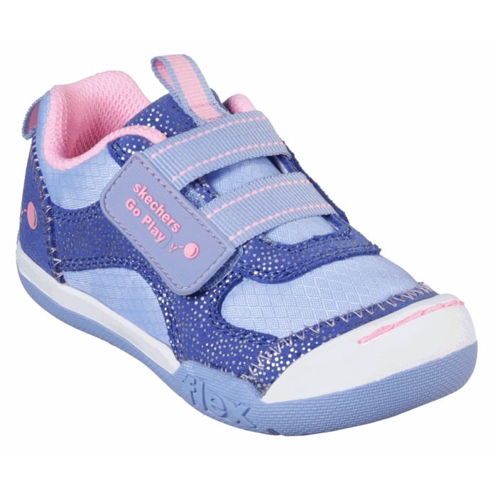 Skechers Toddlers Flex Play Girls Kicks With Toe Buffer