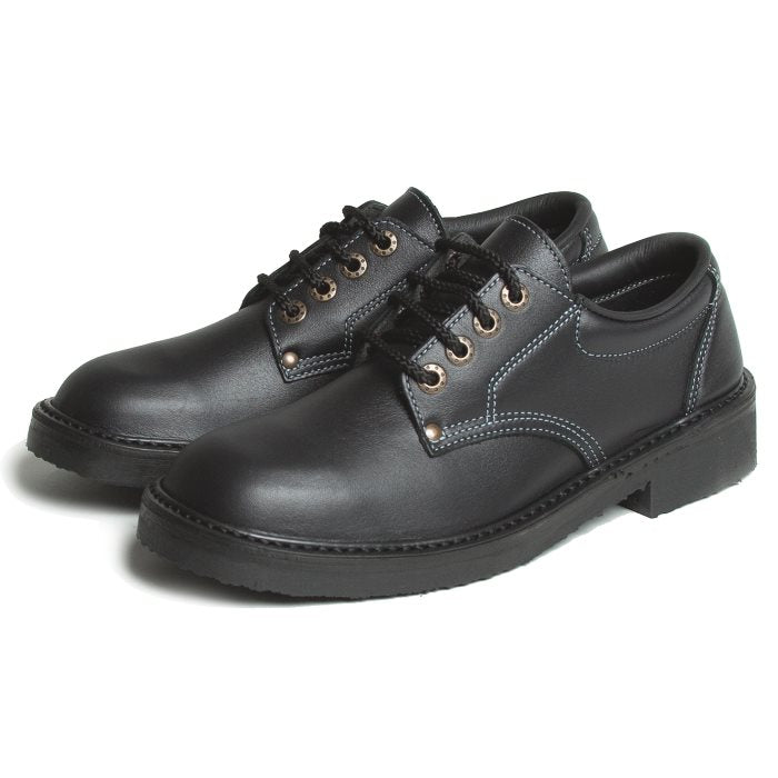 McKinlays Black Lace Up School Shoe Jill