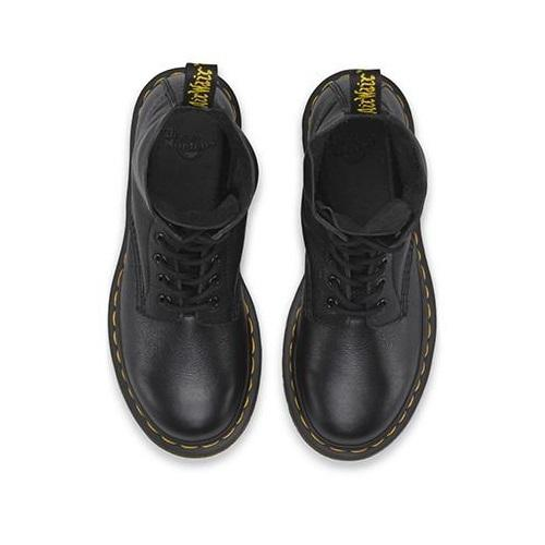Dr Martens - Black Pascal 1460 Virginia 8 eye soft leather