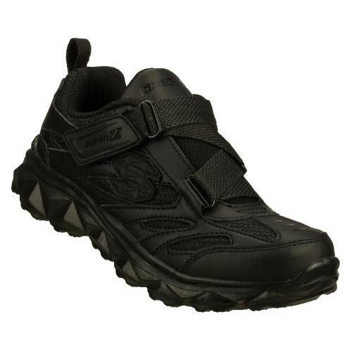 Skechers Kids - Mighty Flex Super Z - ALL Black Youths us 11- 5