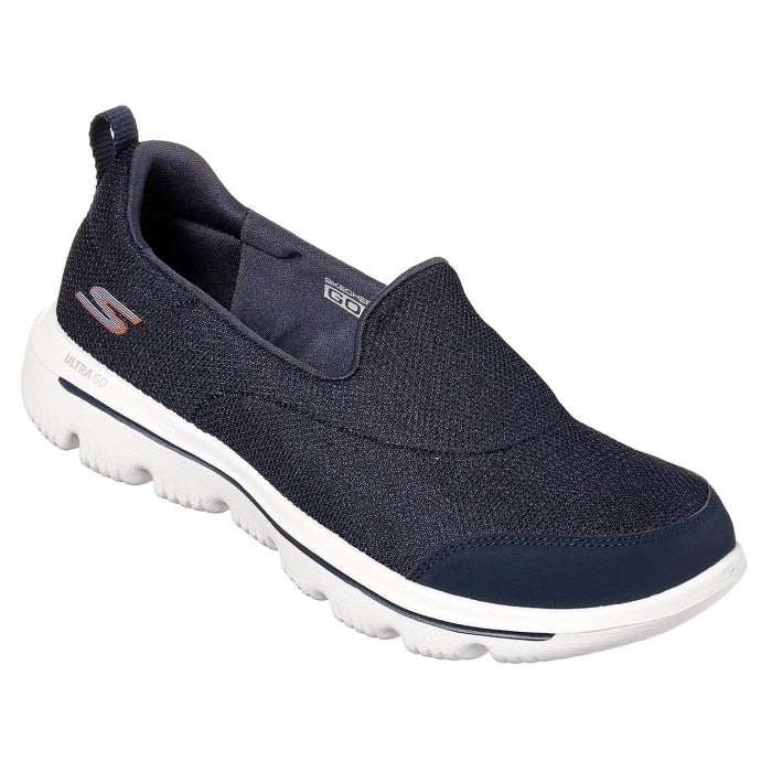 Womens Skechers - Go Walk Evolution Ultra Reach Navy White 15730 NVW