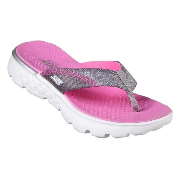 Skechers Girls On The Go 400 Lill Pizazz Jandals Go Walk
