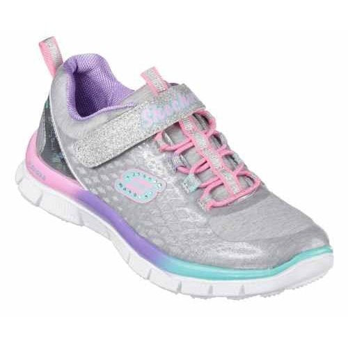 Skechers girls - Skech Appeal Sparktacular Toddlers Silver