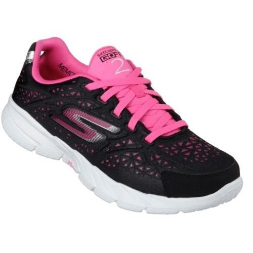 Skechers Go Fit Presto - Black/Hot Pink sizes wms 6.5-9