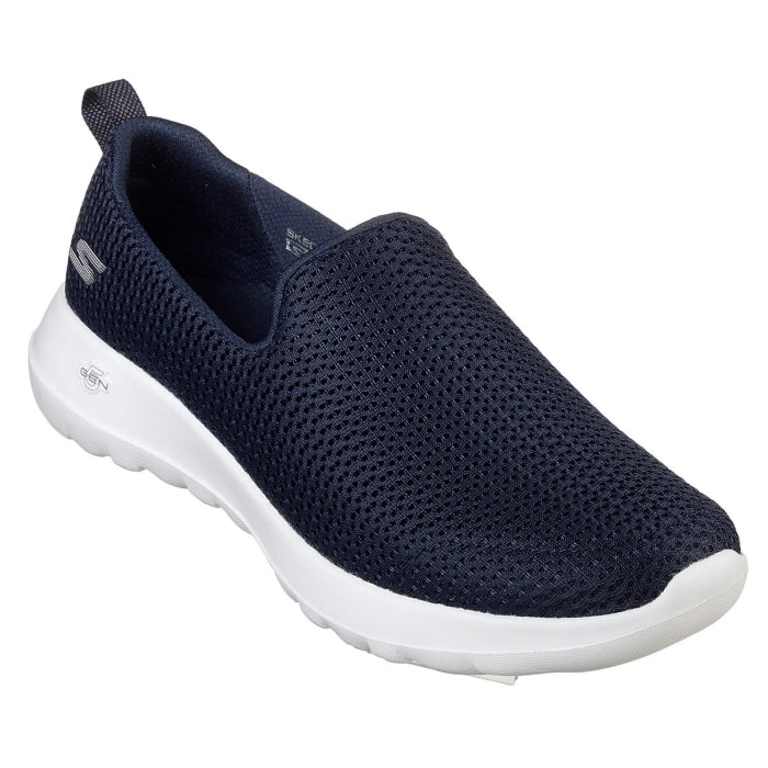 Skechers Womens Joy 15600 Navy Slip On Walking Shoes wms 7- 11