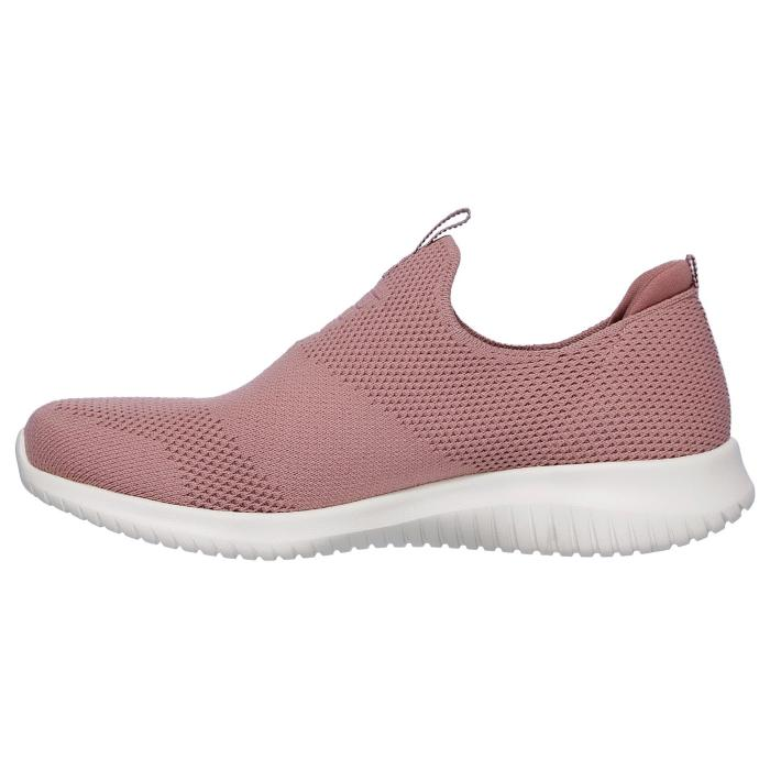 Skechers Slip On Trainer Ultra Flex First Take 12837Mauve