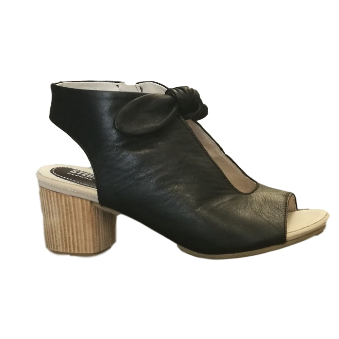 Stegman Enya W Sandal with Heel Black