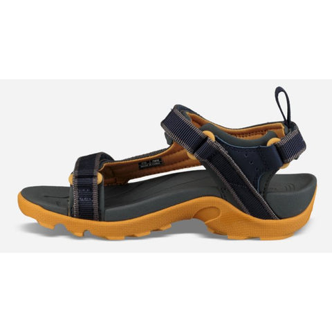 Teva Boys - K Tanza Eclipse  Grey Navy Yellow Rugged Sandal us 11 to 7