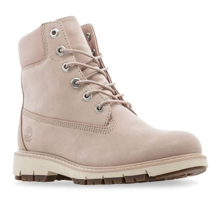 Timberland Icon Womens Lucia Way Light Pink 6 inch Waterproof Boots