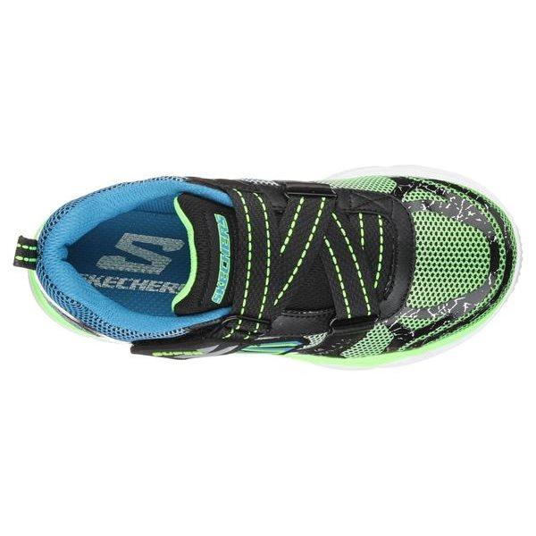 Skechers - Boys Neutron Toddlers Lime Blue 95170