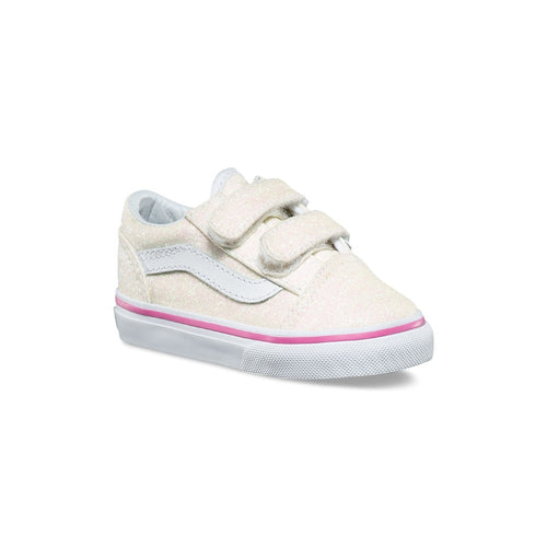 009e92203445 Vans Kids - Old Skool V - Toddlers - Glitter to a size 10 – Foot ...