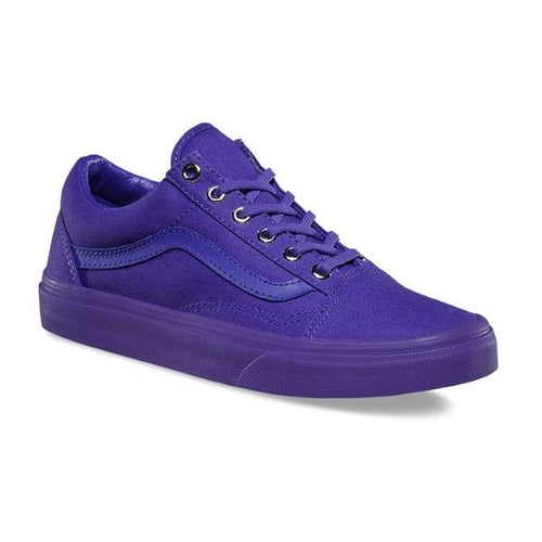 1551ce1e9e9827 Vans Shoes Old Skool Mono Purple - Womens Mens Unisex