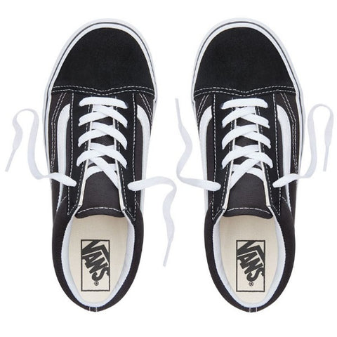 Vans - Old Skool  - Youths Black/White Lace Up