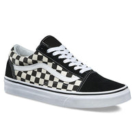 Vans - Old Skool - Youth's Primary Check Black White