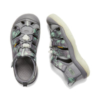 Keen Youths us1- 6 (big) - Newport  H2 Glow in the Dark Steel Grey/Glow