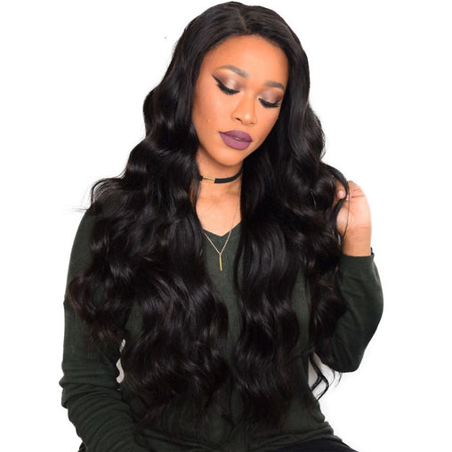 Malaysian Natural Wave Virgin Human Hair Weave Bundles Natural Color 8-28 Inches - NiceHair