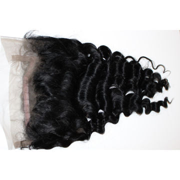 Loose Wave Virgin Human Hair 360 Lace Frontal Closure - NiceHair