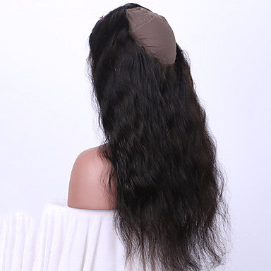 Natural Wave Virgin Human Hair 360 Lace Frontal Closure - NiceHair