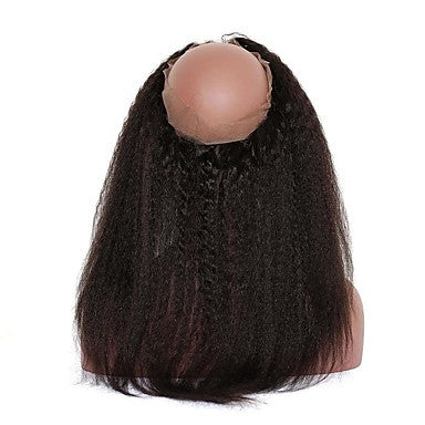 Straight Hair Virgin Human Hair 360 Lace Frontal Hair Closure - NiceHair