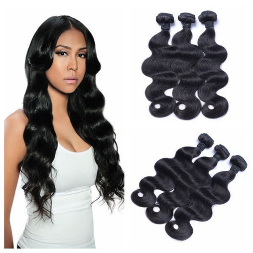 Mongolian Body Wave Hair Bundles Unprocessed Human Hair Weave 8-28 Inches - NiceHair