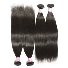 Indian Straight Hair Bundles Unprocessed Human Hair Weave 8-28 Inches - NiceHair