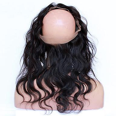 Body Wave Virgin Human Hair 360 Lace Frontal Closure - NiceHair