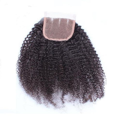 Kinky Curly Virgin Human Hair Lace Closure 10-20 Inch 5x5 - NiceHair