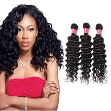 Mongolian Deep Wave Virgin Human Hair Weave Bundles Natural Color 8-28 Inches - NiceHair