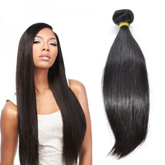 Cambodian Straight Virgin Human Hair Weave Bundles Natural Color 8-28 Inches - NiceHair