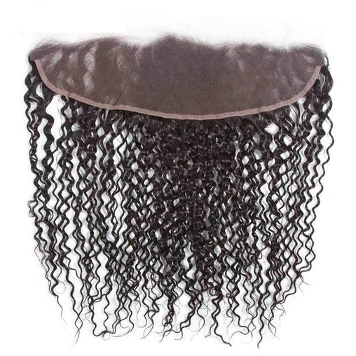 Kinky Curly Virgin Human Hair 13x4 Lace Frontal Hair Closure - NiceHair