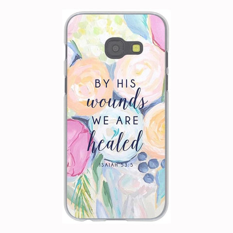 'By His Wounds We Are Healed' Phone Case For Samsung Galaxy & Grand Prime Note