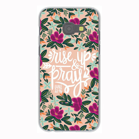 'Rise Up & Pray' Phone Case For Samsung Galaxy & Grand Prime Note