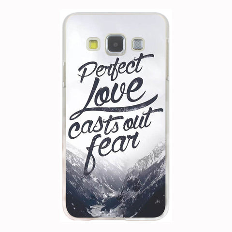 'Perfect Love Casts Out Fear' Phone Case For Samsung Galaxy & Grand Prime Note