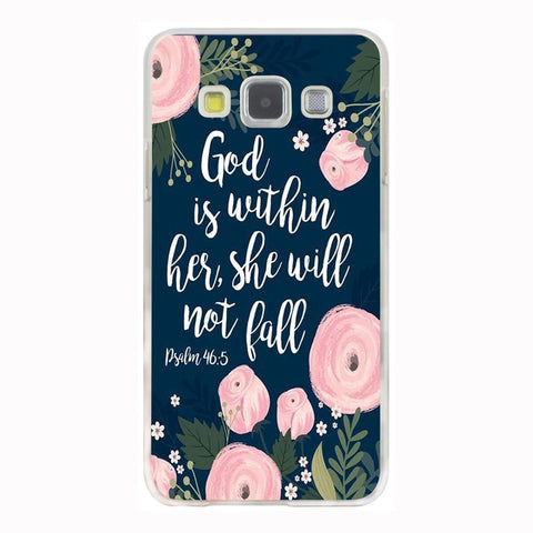 'God Is Within Her' Phone Case For Samsung Galaxy & Grand Prime Note