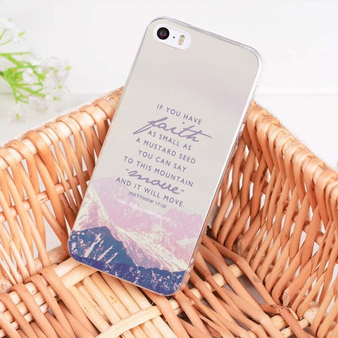 'If You Have Faith' iPhone Case