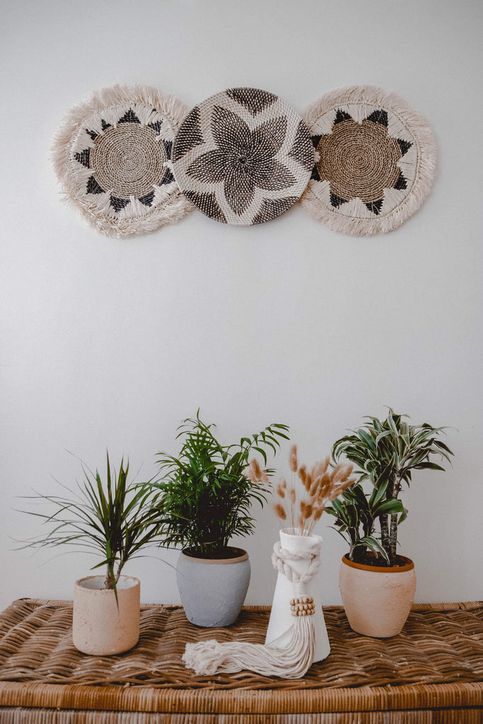 set of3 wall baskets