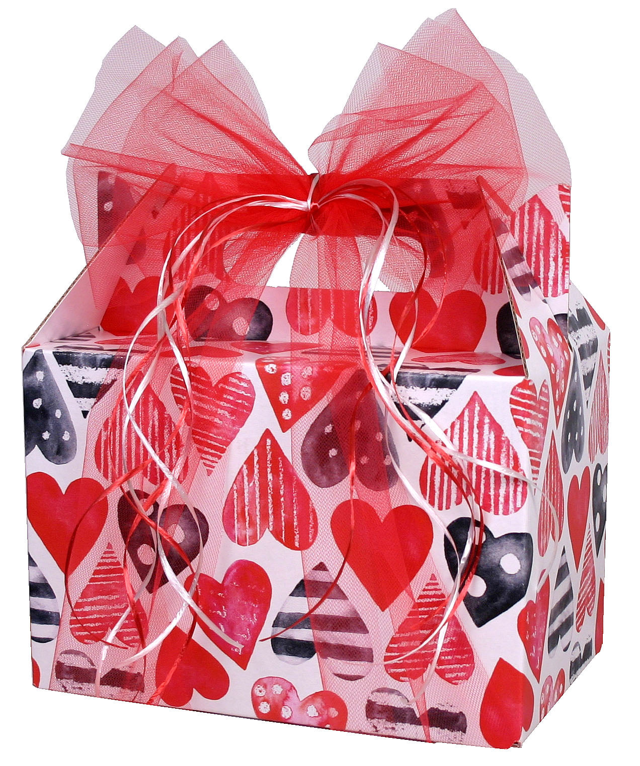 Heart Full of Love Basket - hipkits.com