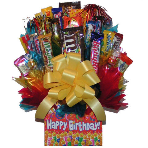 Happy Birthday Box Bouquet - hipkits.com