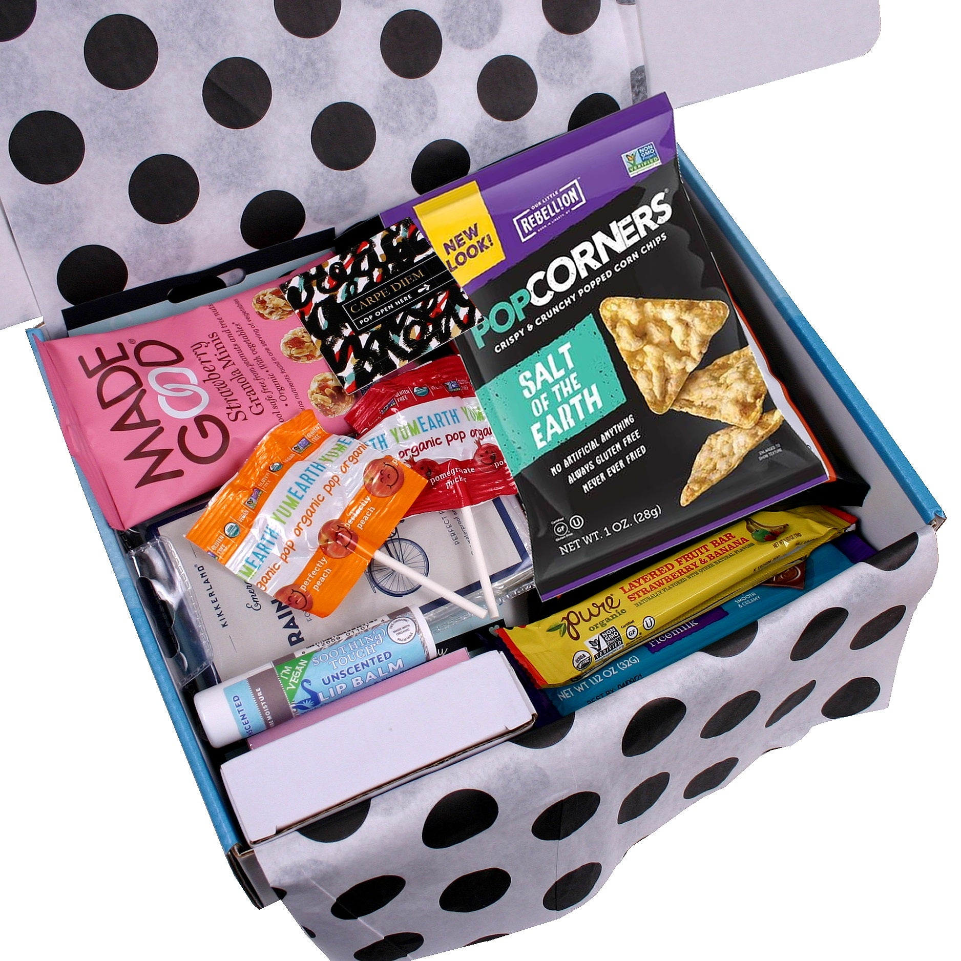 Little Box of Awesome - Gluten Free/Nut Free/Vegan Gift Pack for Her - hipkits.com