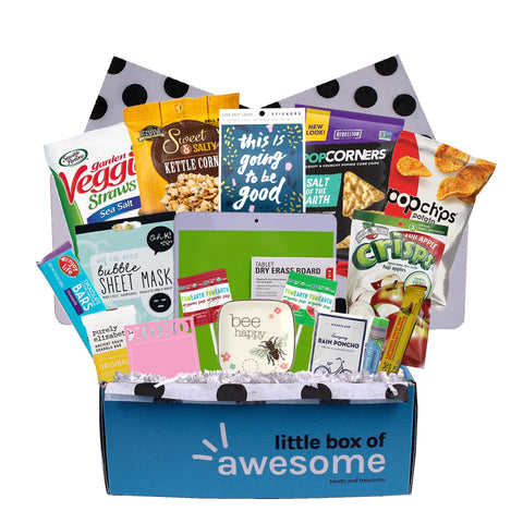 Little Box of Awesome - Gluten Free/Nut Free/Vegan Gift Pack for Her