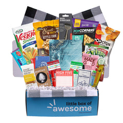 Little Box of Awesome - Gluten Free/Nut Free/Vegan Gift Pack for Him