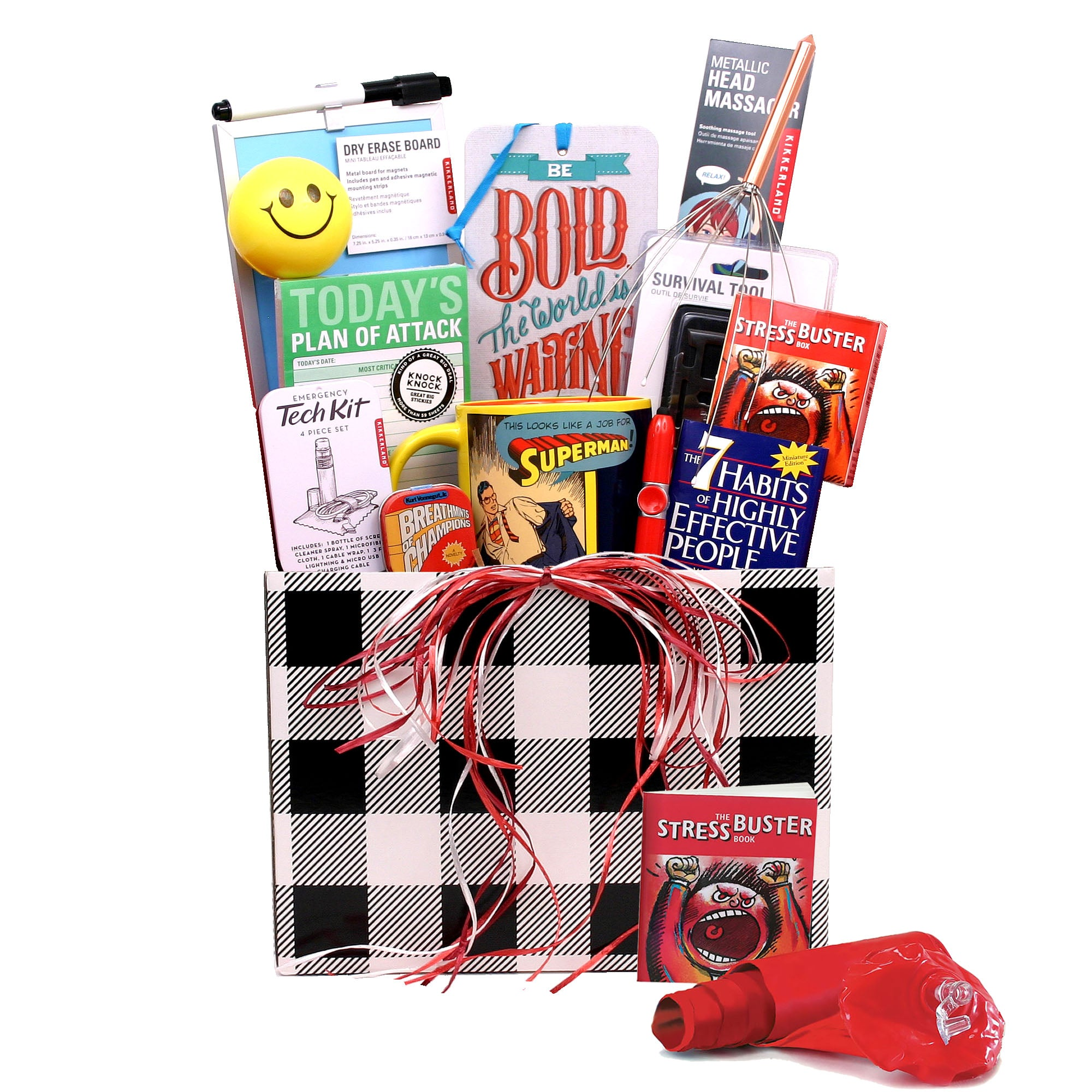 College Survival Kit Gift Basket - hipkits.com