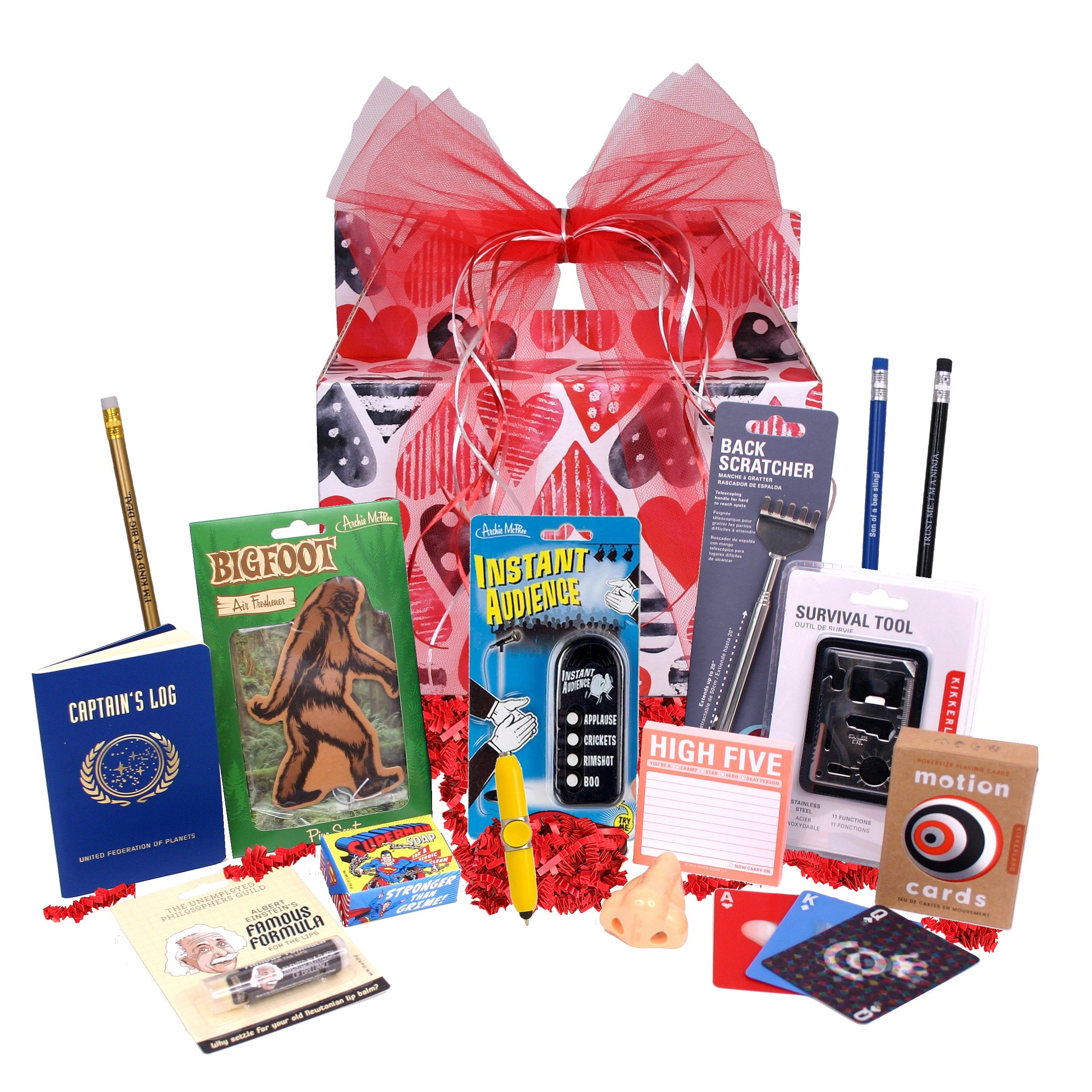 The Dude Valentine's Day Gift Basket