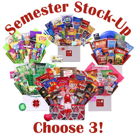 Semester Stock Up - Choose 3