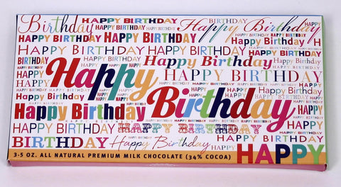 Happy Birthday Chocolate - hipkits.com