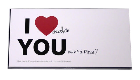 I Love You Chocolate Bar - hipkits.com