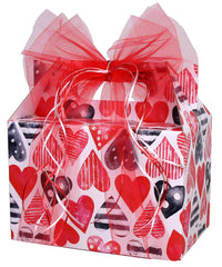 Today is the Day Valentine's Day Gift Basket - beyondbookmarks.com