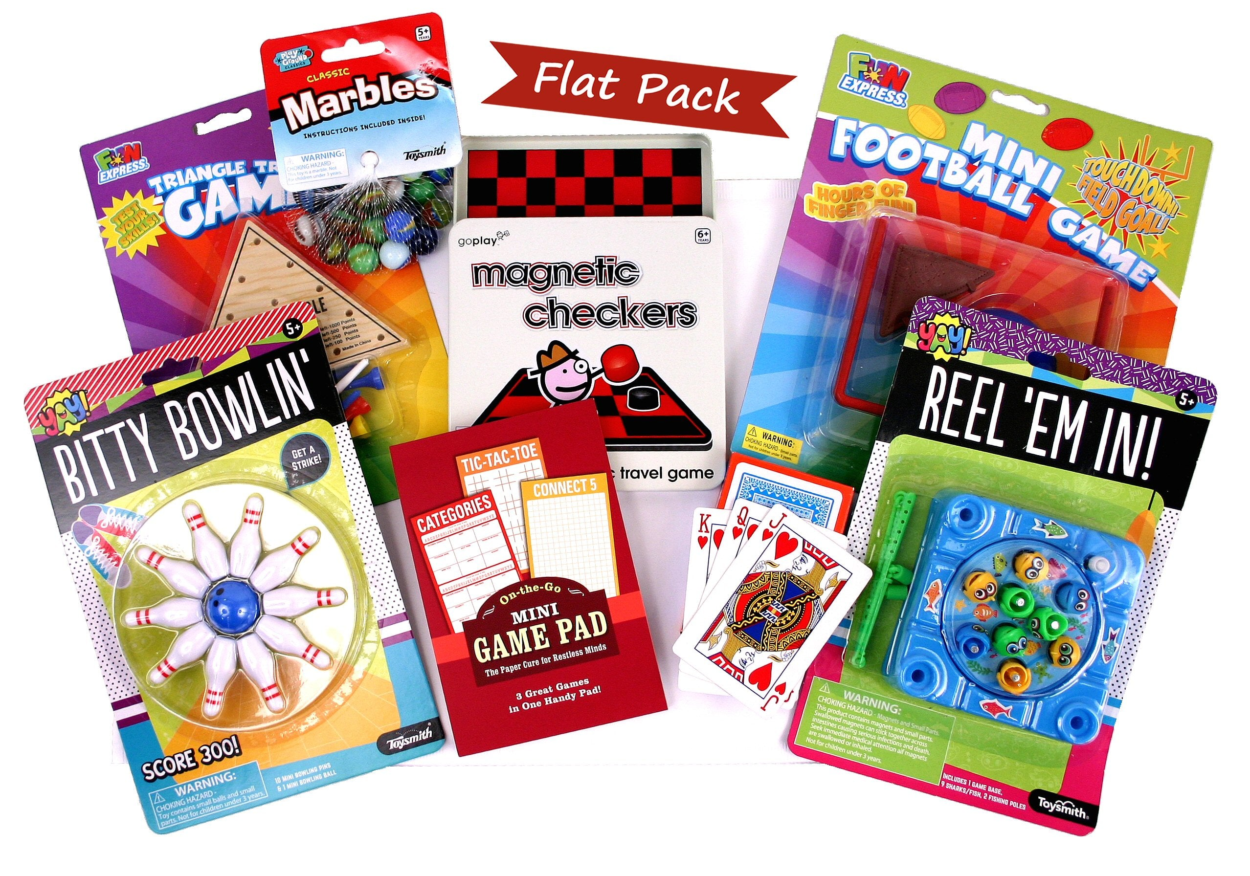 Fun & Games Flat Pack - beyondbookmarks.com