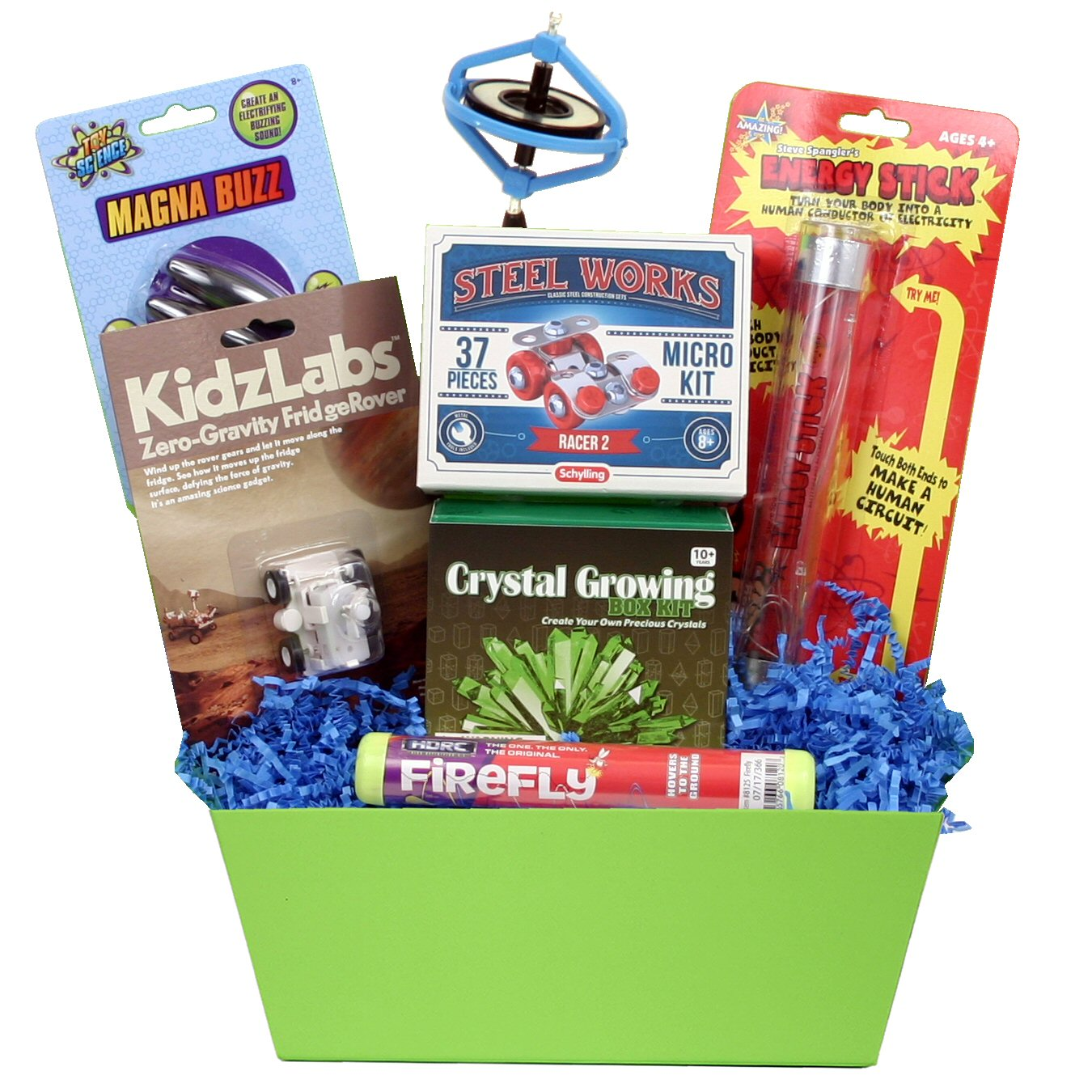 How Stuff Works Gift Basket - beyondbookmarks.com