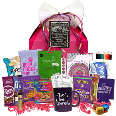 Miss Bliss Gable Gift Basket - beyondbookmarks.com